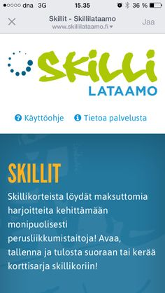 www.skillaamo.fi Motor Activities, Occupational Therapy, Physical Education, Physics, Preschool, Teacher, Sport, Peda, Professor