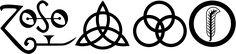 Las Runas de Led Zeppelin (símbolos)