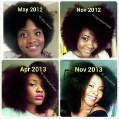 Hair growth takes time! Hair growth takes time! How To Grow Natural Hair, Natural Beauty Tips, Natural Hair Journey, Natural Hair Care, Natural Hair Styles, Natural Curls, Black Hair Growth, Black Hair Care, Afro Hair Journey