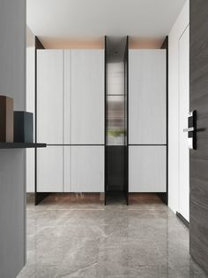 20' Residence H. on Behance Cabinet Shelving, Shoe Cabinet, Shelves, Small Room Design, Entrance Design, Rack Design, Wardrobe Design, Cabinet Design, Interior Design Living Room