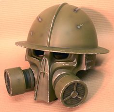 Steampunk helmet final by ~DragonArmoury