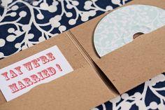 Custom Music CD as Wedding Favor