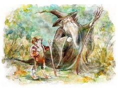 Gandalf&Bilbo Baggins