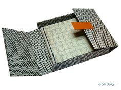 brittdesign Paper Art, Paper Crafts, Paper Engineering, Handmade Books, Book Binding, Book Journal, Fabric Swatches, To Go, Book Making