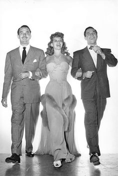 Lee Bowman, Rita Hayworth & Gene Kelly ~ Cover Girl, 1944