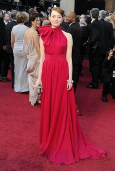 Emma Stone at the Academy Awards! What do you think of her dress?