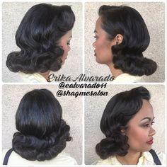 Vintage style done by Erika Alvarado