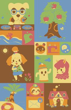 Animal Crossing New Leaf by pronouncedyou