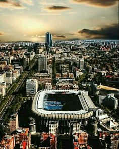 Santiago Bernabeu... Home