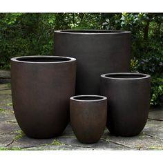 Garden Planters, Planter Pots, Front Yard Planters, Square Planters, Fall Planters, Garden Bed, Front Porch, Plantas Indoor, Fiberglass Planters
