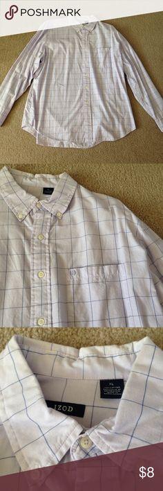 Men's Button Down Shirt Men's Izod Button Down Shirt. Light purple. 100% cotton. Izod Shirts Dress Shirts