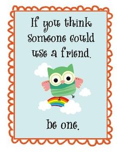 Owl Themed Motivational Posters Set 2.  Great for owl themed classroom!  Inspirational quotes for kids.  $