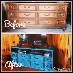 Thrifted dresser upcycle!