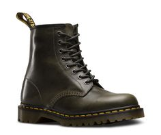 The 1460 is the original Dr. Martens boot. Its instantly recognizable DNA looks like this: 8 eyes, grooved sides, a heel-loop, yellow stitching, and a comfortable, air-cushioned sole. Built to last, this unisex boot is made using one of the finest methods of construction: the Goodyear Welt — which means the upper and sole are sewn together in our heat-sealed z-welt stitch. The boot sits on our iconic AirWair™ sole, which is oil and fat resistant with good abrasion and slip resistance, and is…