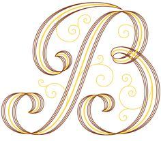B #monogramme #B