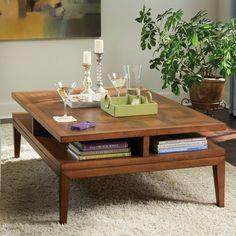 Somerton Dwelling Claire de Lune Coffee Table & Reviews | Wayfair