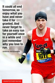 Running isn't just about race day - Checkout these marathon quotes to help keep your own marathon training on track, no matter what