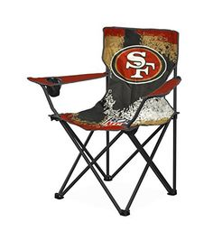 Support your favorite NFL team with the NFL Tween Camp Chair! The chair is perfect for any San Francisco 49's fan. The foldable frame and canvas carry bag are perfect for storage and going from one sporting event to the next. Sturdy metal frame and canvas fabrication. Seat depth –... more details available at https://furniture.bestselleroutlets.com/children-furniture/chairs-seats/folding-chairs/product-review-for-nfl-san-francisco-49s-tween-camp-chair/