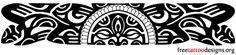 Polynesian Band Tattoo Designs | the Hawaiians and the other Polynesian islanders, an armband tattoo ...