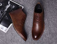 Untitled Men's Shoes, Dress Shoes, Men Dress, Oxford Shoes, Lace Up, Boots, Chukka Boot, Style, Fashion