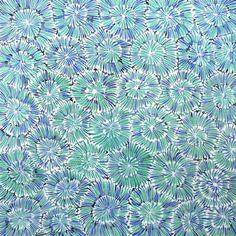 Ilyarnayt Flower by Audrey Morton Kngwarrey. Shop from Utopia Lane Art #AboriginalArt
