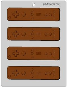 Wii Remote Chocolate Mold