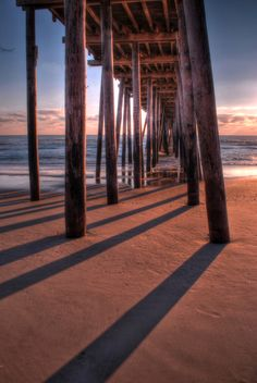 Rodanthe Pier at Sunrise- We have been here!!!  We can put a big CHECK MARK next to this one!!
