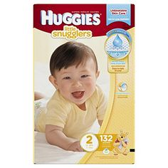 Huggies Little Snugglers Diapers, Size 2, 132 Count for $40 only!