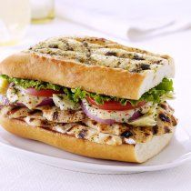 Receta de Sandwich de Pollo