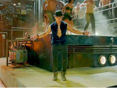 A new teaser Dhoom Tap shows Aamir Khan tap dancing to beats, along with background dancers. Aamir Khan also went through training to perfect the art of tap dancing.