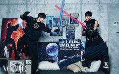 exo vogue magazine star wars december 2015 photos