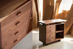 GHGM - 굿핸드굿마인드 Cabinet Furniture, Fine Furniture, Furniture Design, Plywood Projects, Wood Drawers, Wood Design, Wood Table, Midcentury Modern, Woodworking Projects