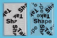 Kingston Degree Show Publication - Dan Jones Graphic Design Tattoos, Graphic Design Print, Modern Graphic Design, Menu Layout, Book Layout, Bold Typography, Typography Design, Visual Communication Design, Bound Book