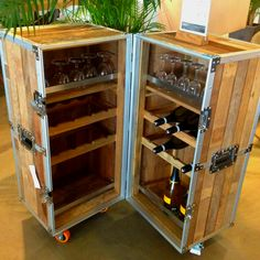 Wine case trunk -  I can do better.