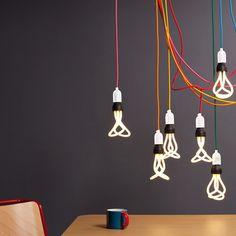 NUD light with Plumen bulb: Surrounding Australia