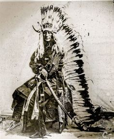 Young Whirlwind, Cheyenne. 1860s.