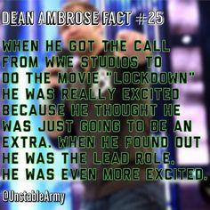 Dean ambrose fact
