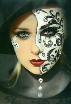 #face#painting#addicted#pleasure#expression
