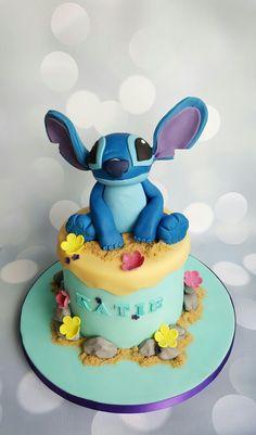 [Pro/Chef] Stitch (Lilo and Stitch) birthday cake!