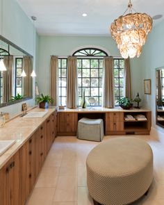 Master Bathroom Cabinets