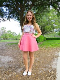 Florida Outfit In The Sunshine | Tanya Burr