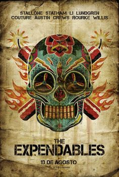 """Mexican """"The Expendables"""" Movie Poster"""