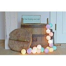 Cotton Ball Lights Pastel by Pipilota 20 kul