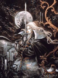 Alucardby Ayami Kojima - This is one of my favourites, I loved playing Castlevania.