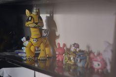 Interior inspiration, designer toys, Joe ledbetter