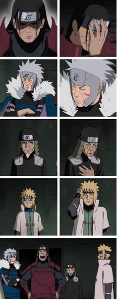 The hokages though! XD Hashirama's funny and immature  Tobirama's stubborn and serious Hirizen is just plain funny  And Minato is funny and calm