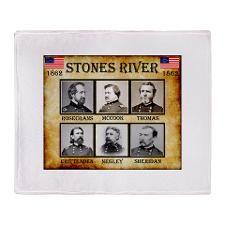 Stones River - Union Throw Blanket  http://www.cafepress.com/Civil_War_1861_to_1865  http://www.cafepress.com/CivilWar1861to1865Part2  http://www.cafepress.com/USCivilWarColoredApparel