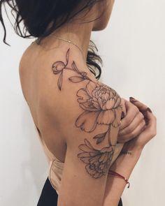 276 Fantastiche Immagini Su Tatuaggi Con Fiori Nel 2019