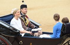 Der Geburtstag der Monarchin - ein Pflichttermin für die Familie. Und so fuhren...