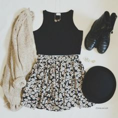such a perfect outfit for autum || love it*